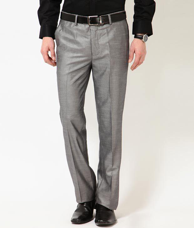 Turtle Grey Men's Trouser