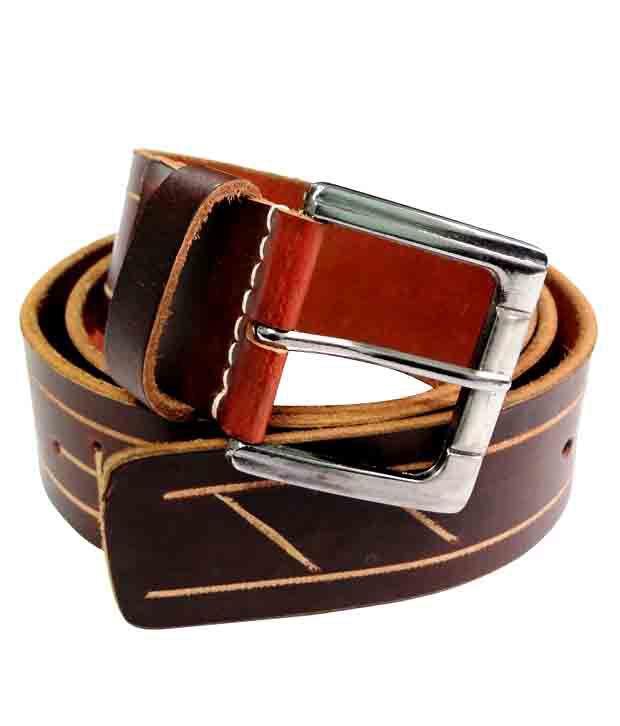 Revo Casual Brown Belt