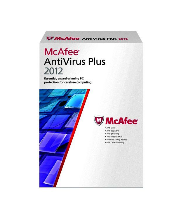 McAfee AntiVirus Plus 2012 (1 User)
