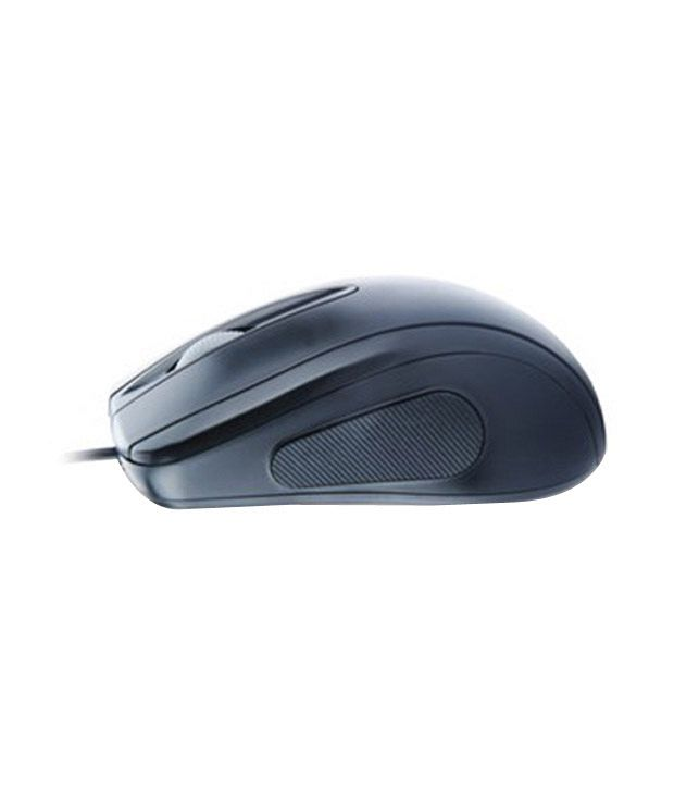 Lapcare L 70 USB Optical Scroll Mouse Black