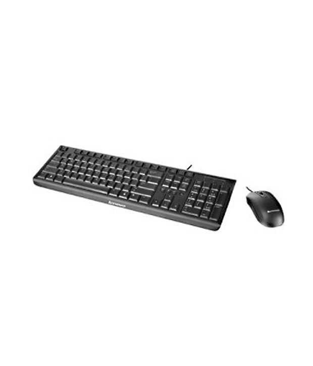 lenovo usb keyboard and mouse combo black with wire buy lenovo usb keyboard and mouse combo. Black Bedroom Furniture Sets. Home Design Ideas