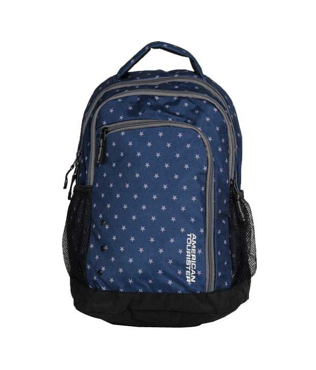 American Tourister Code Backpack - Blue Star