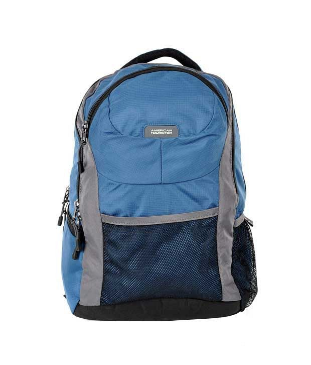American Tourister Buzz Laptop Backpack - Blue
