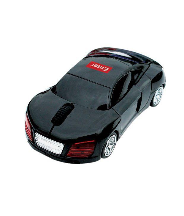 Enter USB Car Wireless Mouse ES-W500 (Black)