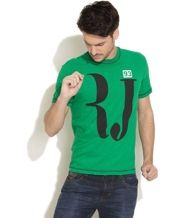 Obidos Smart Green T Shirt