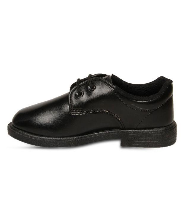Bata Scout Black School Shoes For Kids