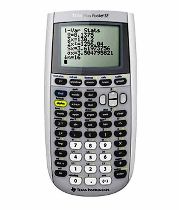 Texas instruments ti 84 plus se pocket graphical calculator buy texas instruments ti 84 plus se pocket graphical calculator urtaz Images