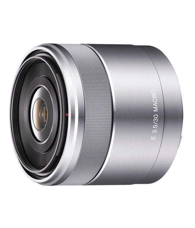 Sony E30mm F3.5 Macro Lens (SEL50F18)