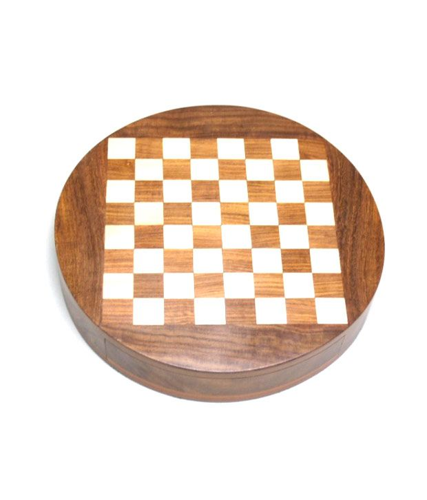 Chess n Craft Round Magnetic Chess