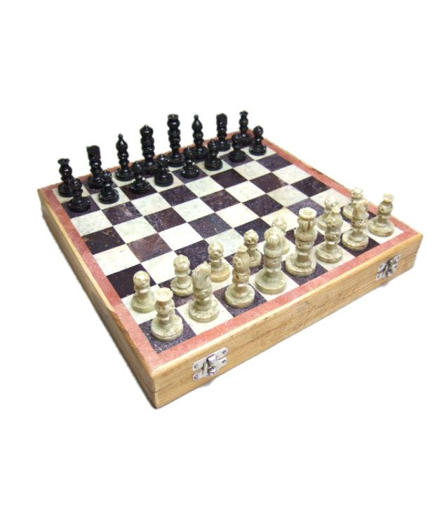 Chess n Craft Stone Chess Set 12 Inch
