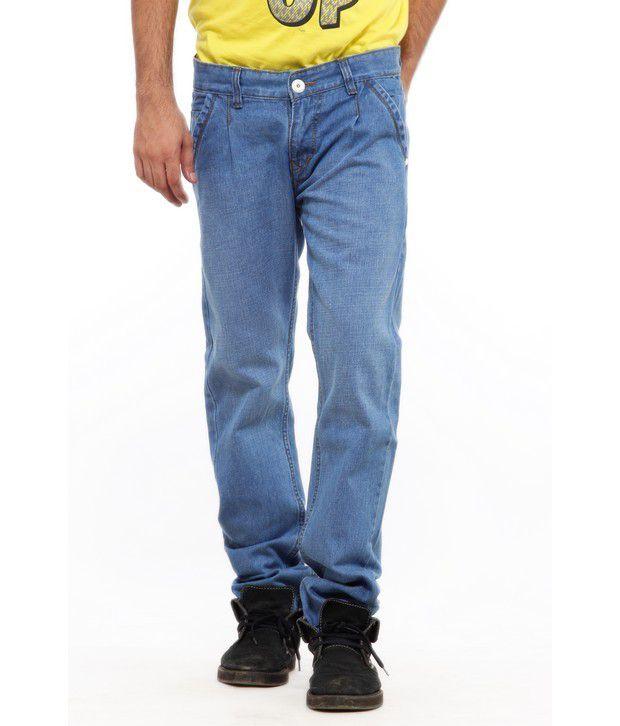 Delhi Seven Classic Blue Jeans