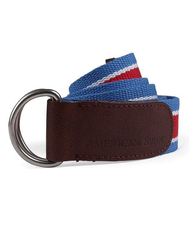 American Swan Red & Blue Belt