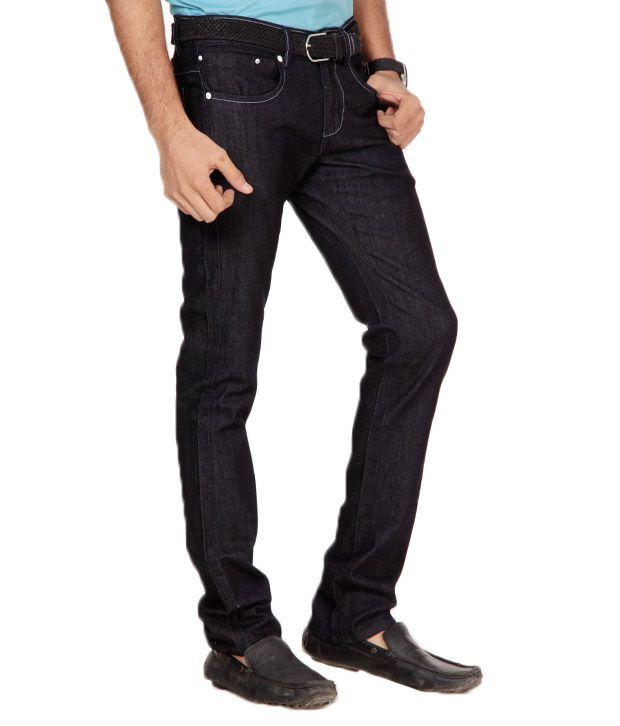 Franco Leone Elegant Blue Jeans