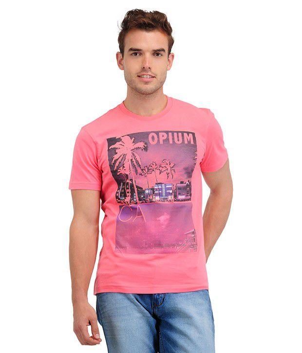Yepme Opium Sugar Coral T Shirt