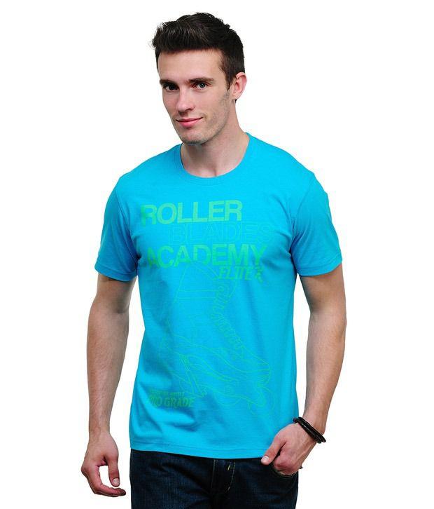 Yepme Roller Blades Blue T Shirt