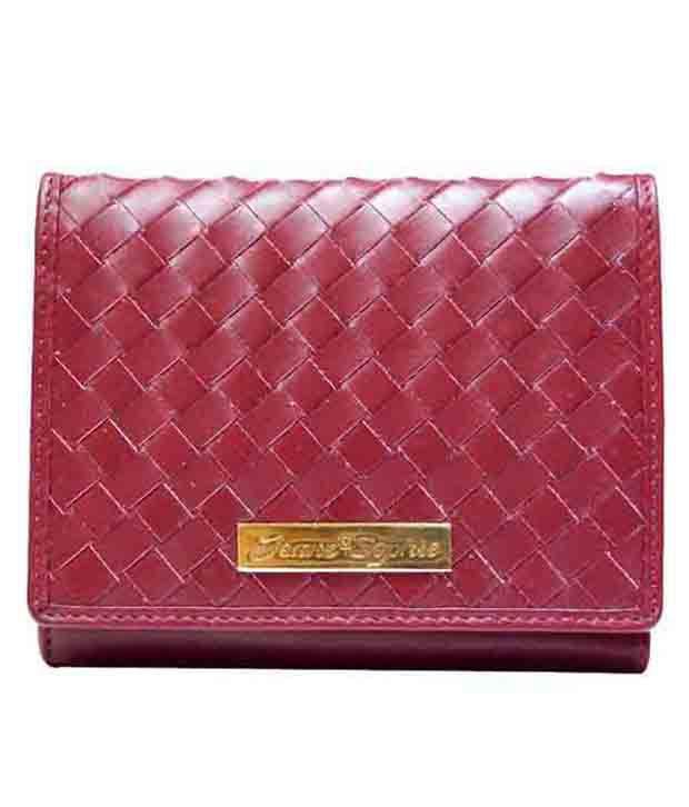 Jeane Sophie Maroon Regular Wallet