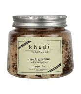 Khadi Rose Geranium Bath Salt 200Gm