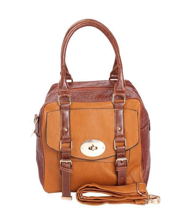 Aar Brown Formal Handbag