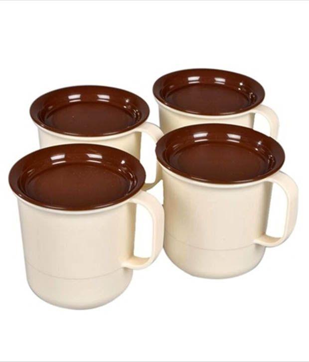 Tupperware Coffee Mugs Set of 4 Mugs Buy line at Best Price in