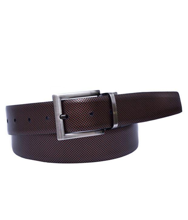 Calvadoss Trendy Black-Brown Reversible Belt