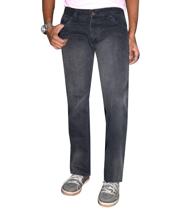 Delhi Seven Charcoal Black  Jeans
