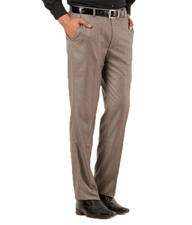 Gansta Men's Beige Trouser
