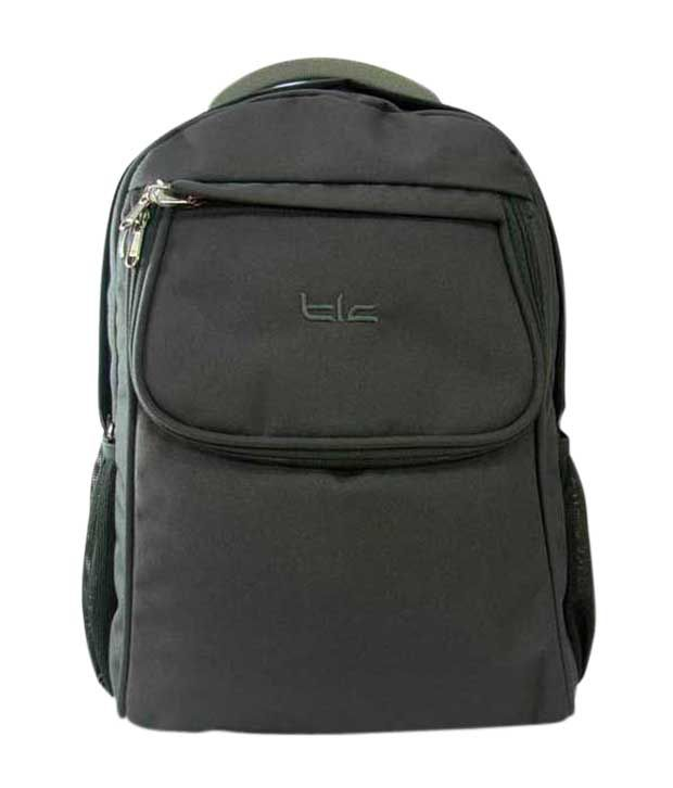 TLC System S 15.6 inch Laptop Backpack Bag (Grey)