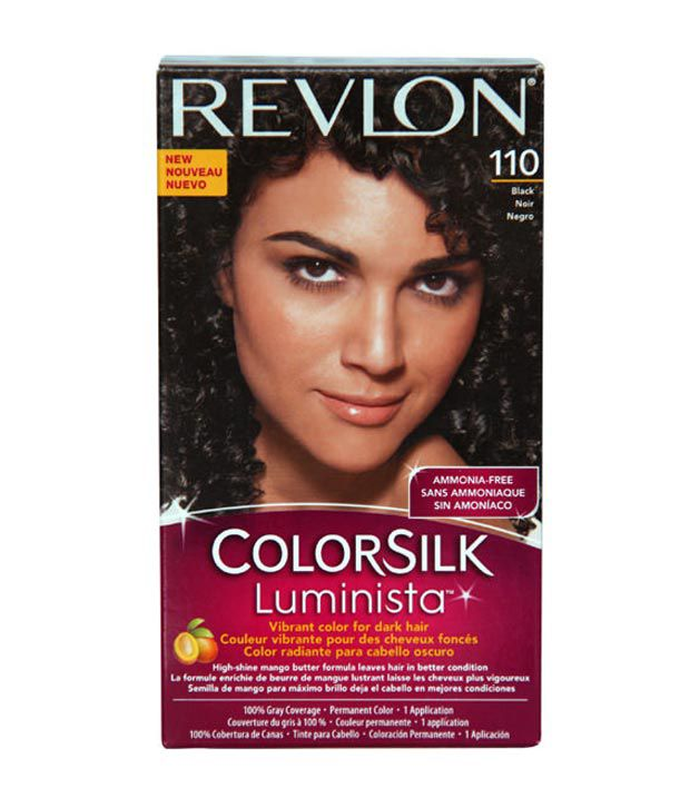 Colorsilk Luminista Hair Colour Natural Black  Colorant 59mlColor Developer