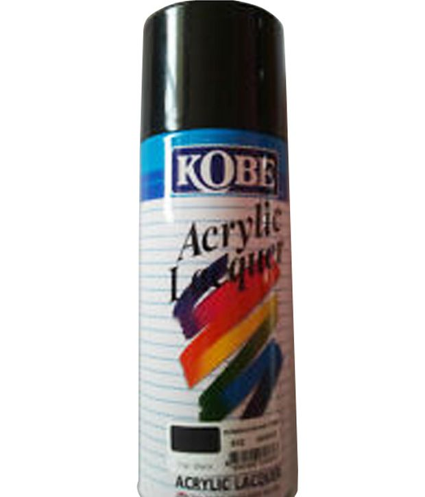 autokart car auto universal spray paint can from kobe black buy. Black Bedroom Furniture Sets. Home Design Ideas