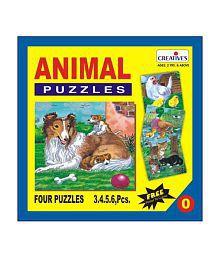 Creatives Animal Puzzle No. 0- 3 to 6 Pieces