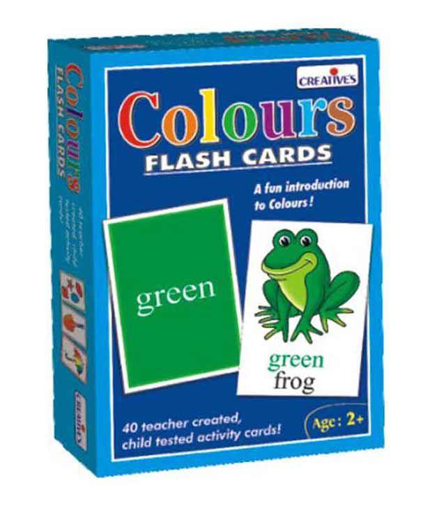 Creatives Colour Flash Cards