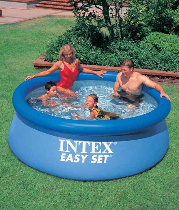 intex 8 x 30 easy set pool buy online at best price on. Black Bedroom Furniture Sets. Home Design Ideas