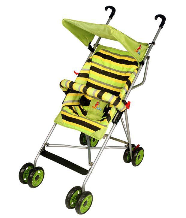 Sunbaby Trendy Baby Buggy - Green