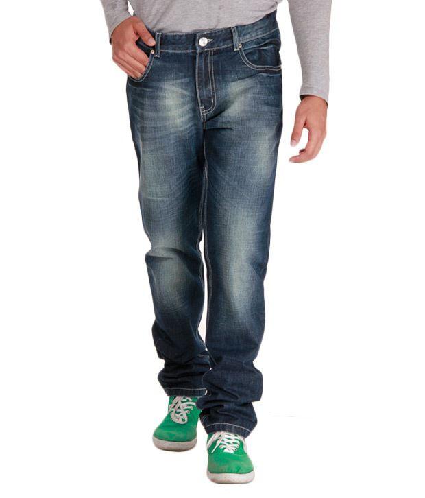 Alano Fashionable Blue Jeans