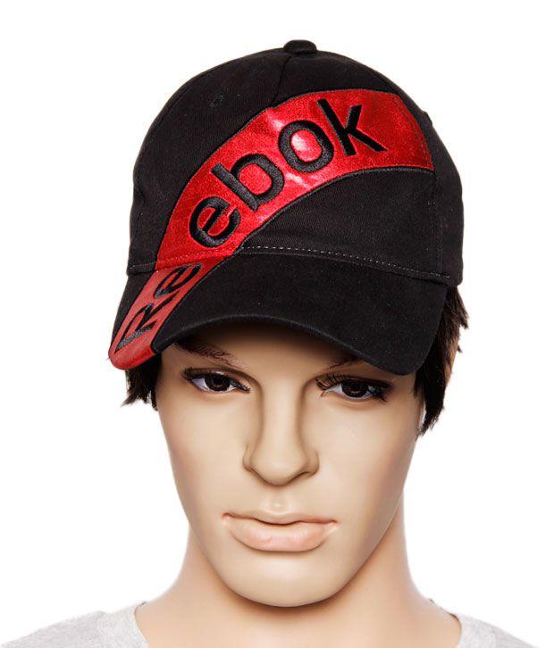 Reebok Stylish Black & Red Cap