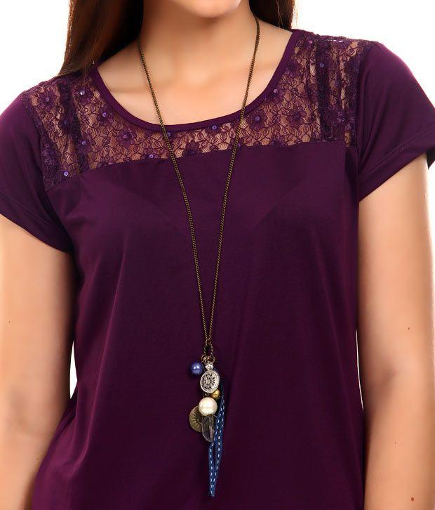 Rhea Fashionable Charms Necklace
