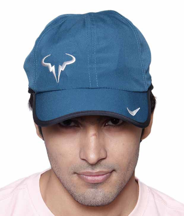 Nike Blue Rafa Bull Logo Cap - Buy Online   Rs.  d73fad1bc39