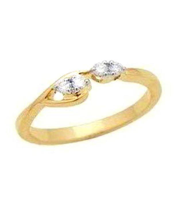 Avsar 18kt Gold 0.06 Ct. Diamond Ring