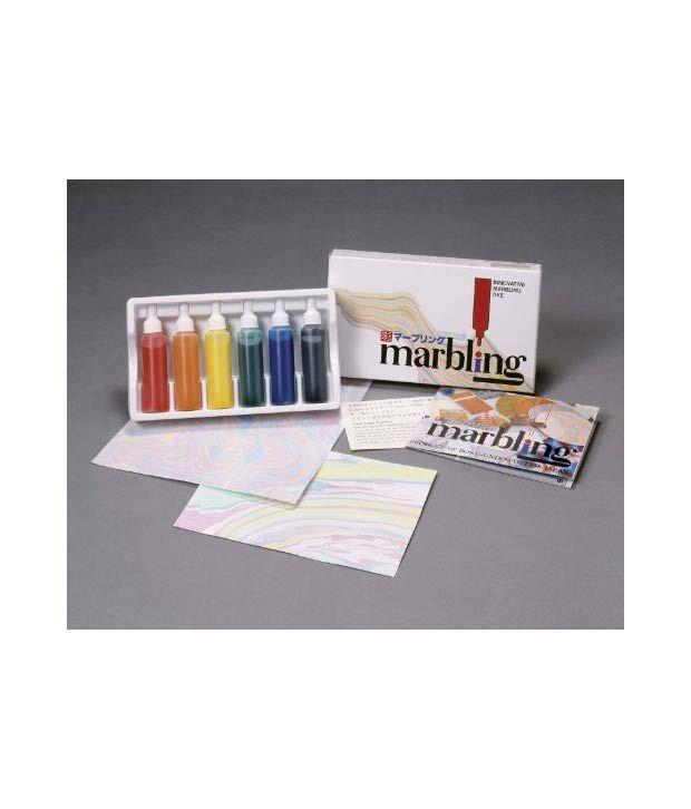 Innovation Marbling Kit Japanese Suminagashi: Buy Online at Best ...