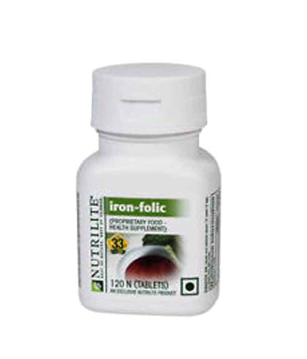 amway nutrilite iron folic 90 tablet
