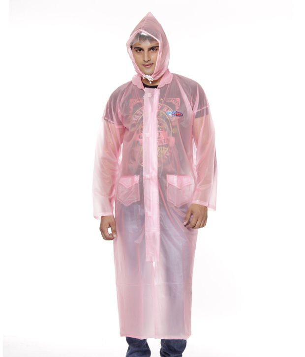 Jorss Pink Large Women Raincoat