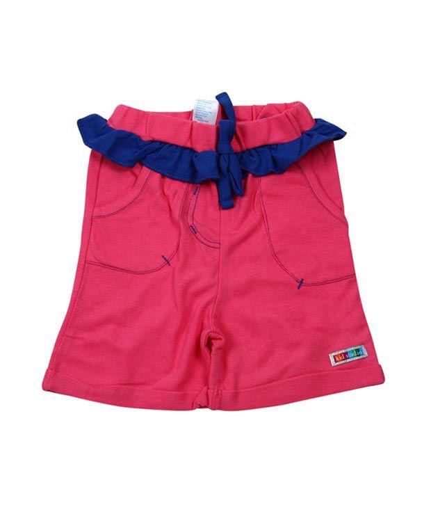 Kidstudio Pink Shorts