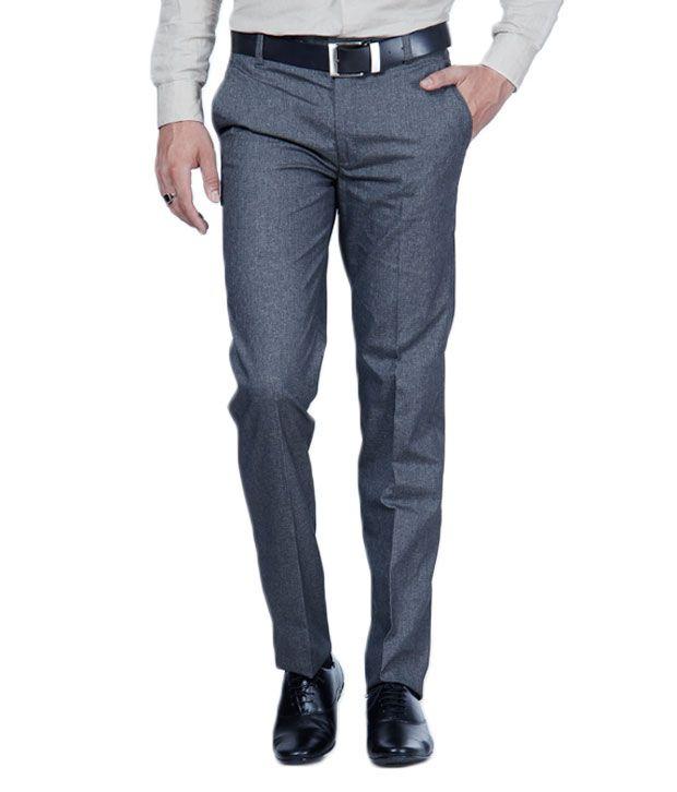 Harvest Black Formal Trousers