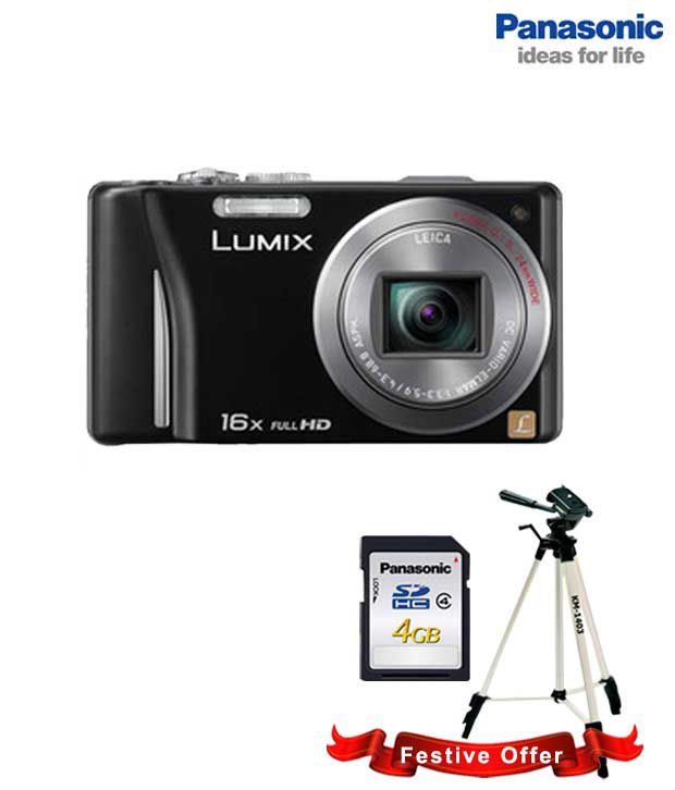 Panasonic Lumix DMC-TZ20 14.1MP Digital Camera