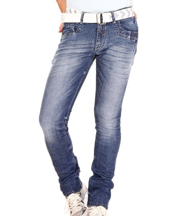 Jogur Elegant Blue Faded  Jeans