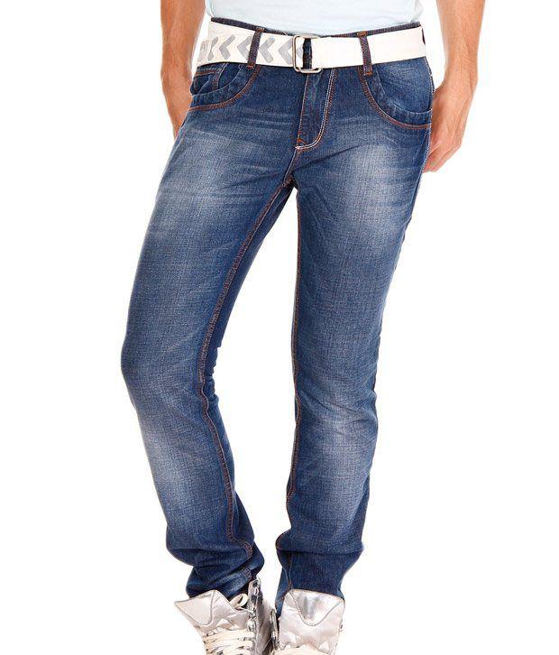 Jogur Dark Blue Faded Jeans