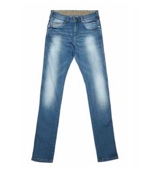 Wrangler Beach Splash Blue Jeans