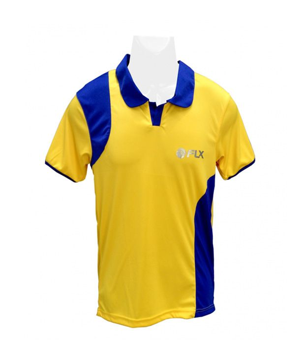 Flx Manica-Jersey-Yellow-Jr Cricket Apparel 60100500321