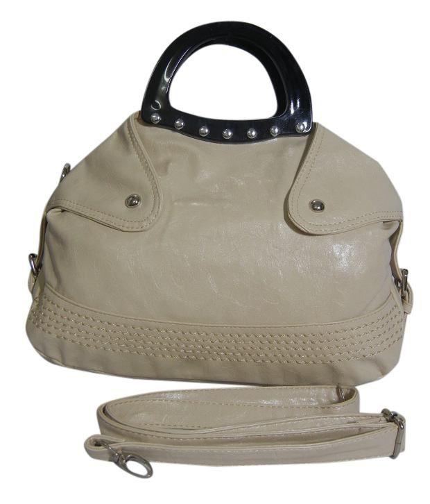 Nell Classic Cream Satchel Bag