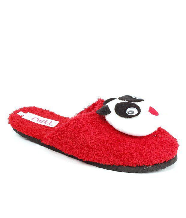 422fb19143a Fnb nell panda red bathroom slippers price in india buy nell JPG 620x726  Red bathroom slippers